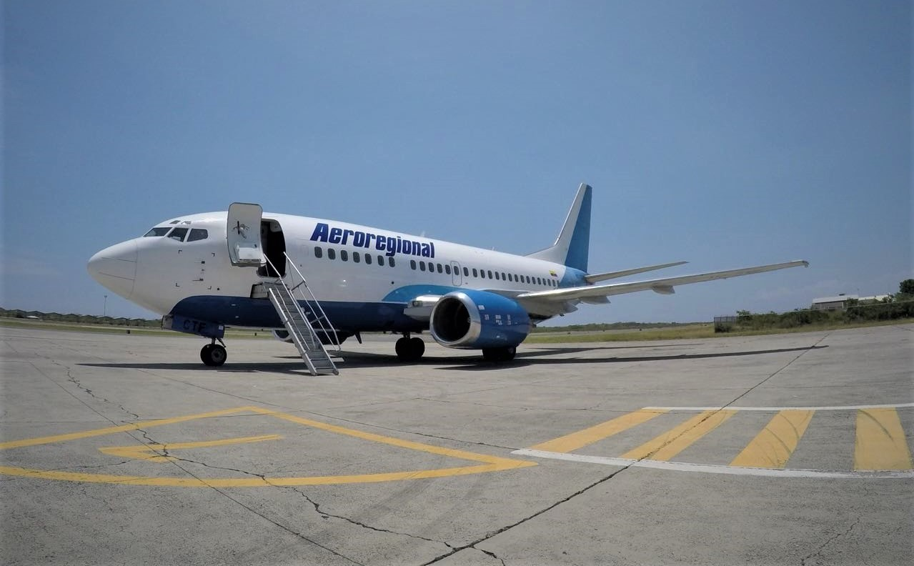 Aeroregional inicia este lunes 8 de junio vuelos con dos frecuencias semanales Quito – Esmeraldas