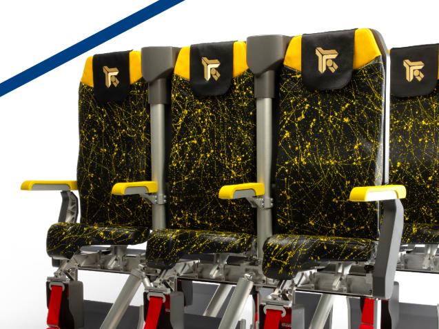 Presentan la tercera versión de sillas para volar de pie