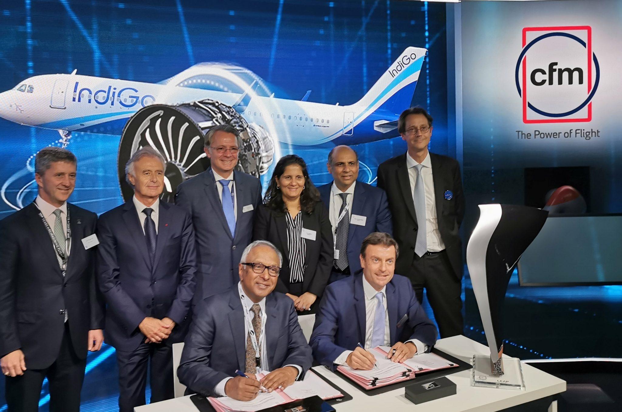 IndiGo firma la orden de motores más grande de la historia