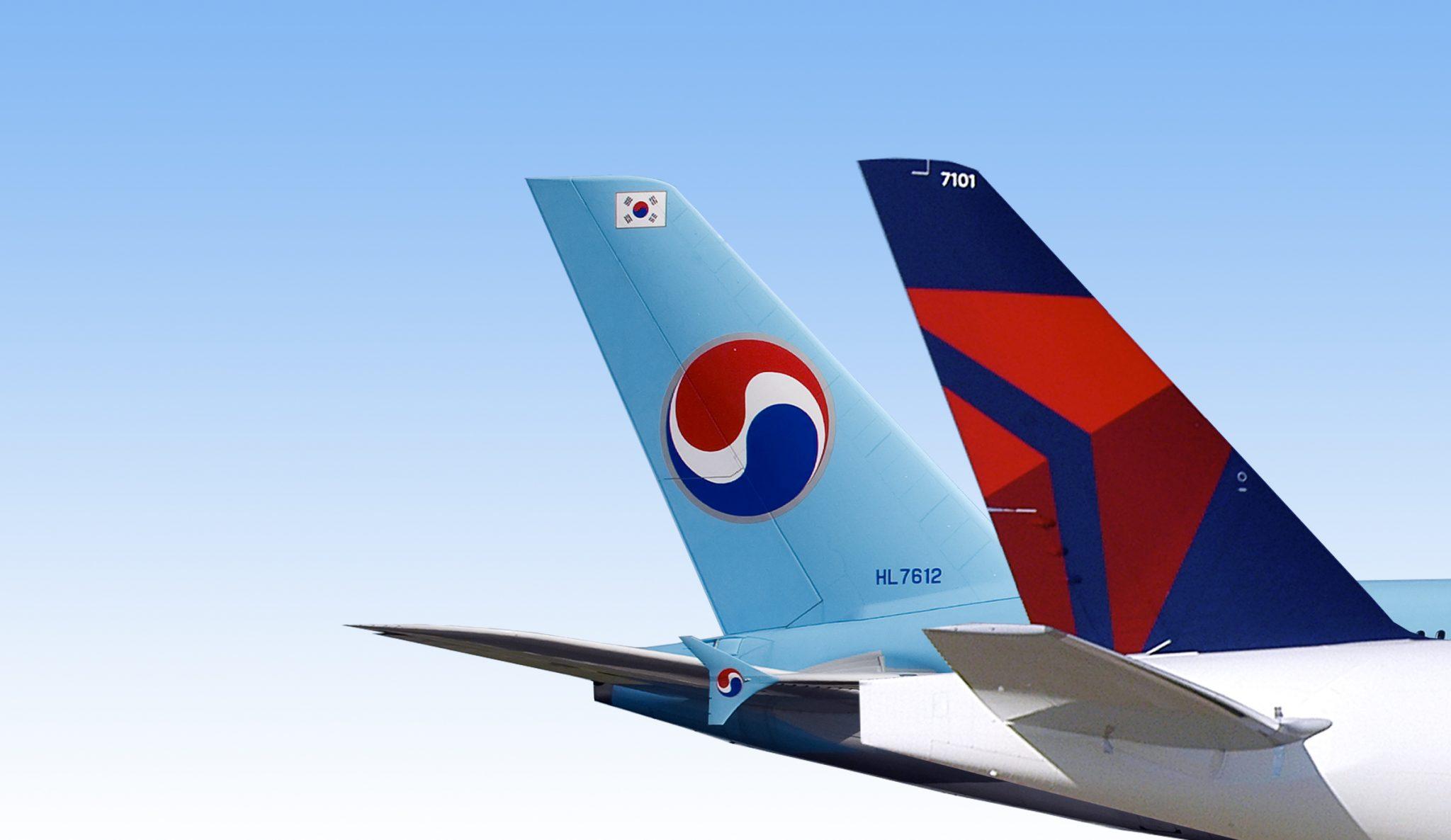 Delta invierte en Korean Air