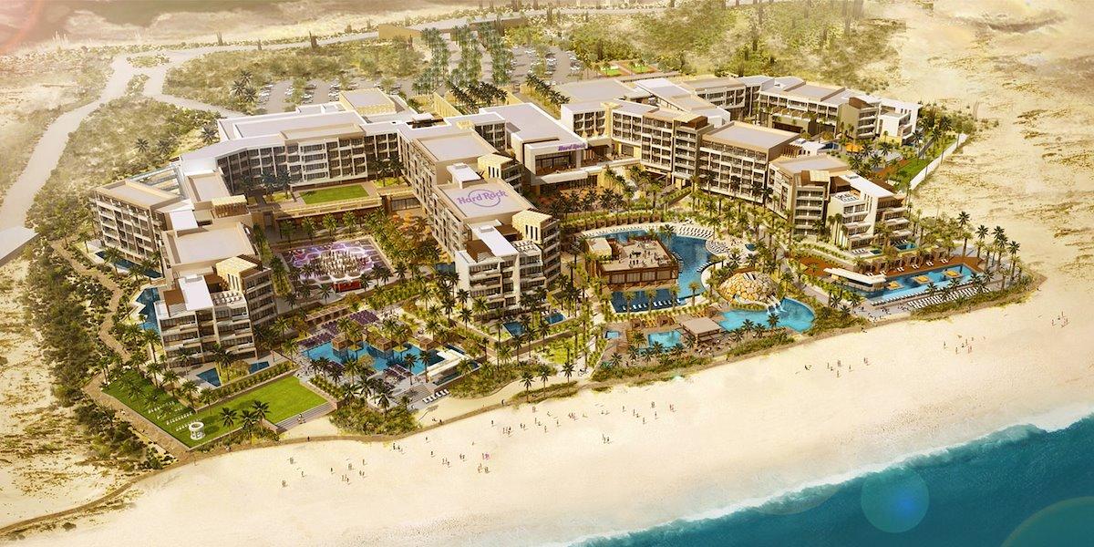 Hard Rock Hotel abrió sus puertas en Los Cabos