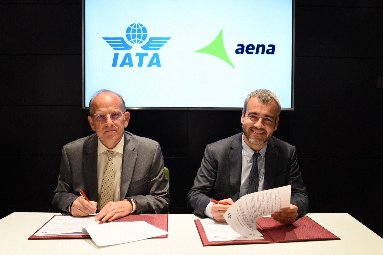 Aena e IATA colaborarán para agilizar la operación aeroportuaria