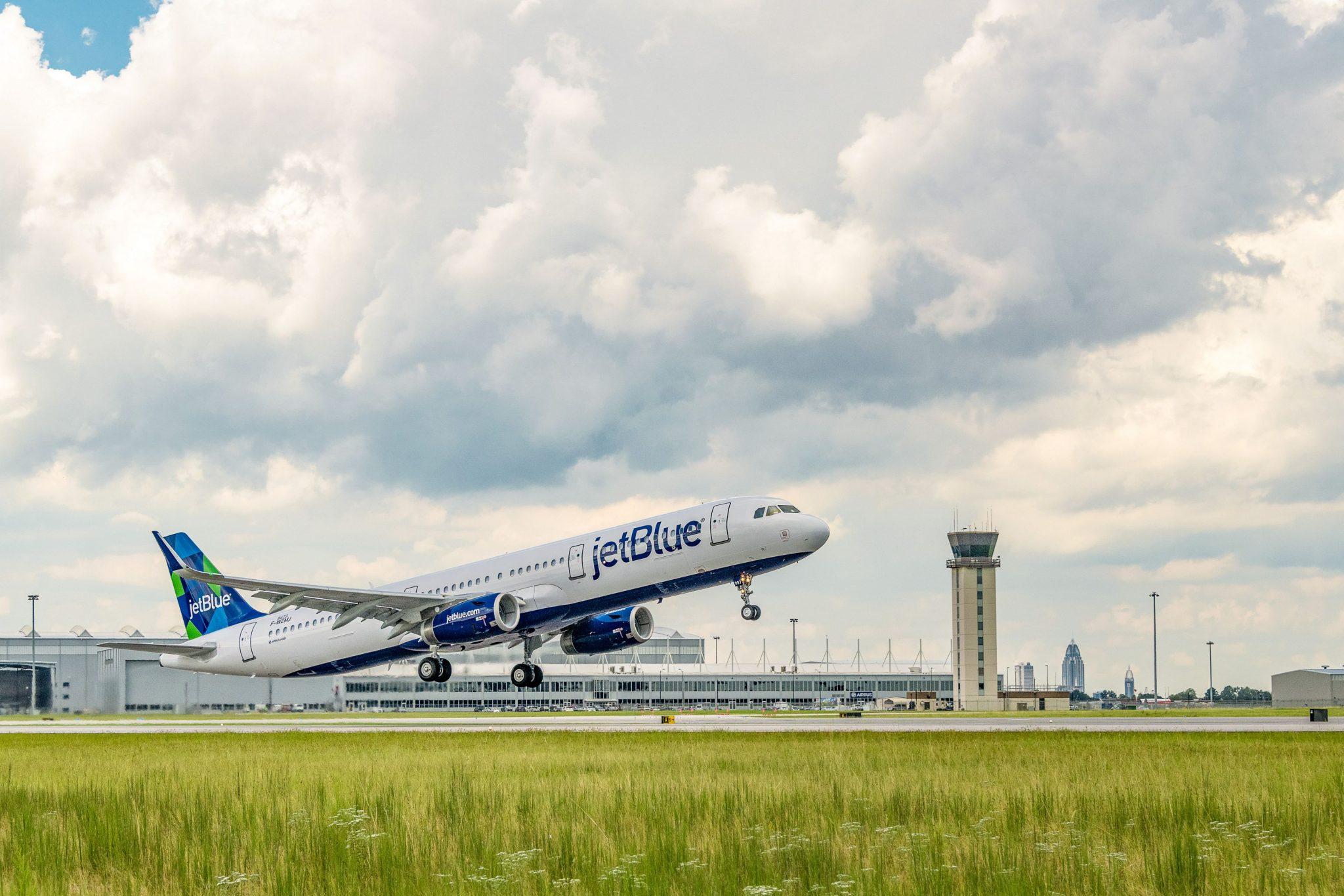El A321neo de JetBlue realizó su primer vuelo comercial