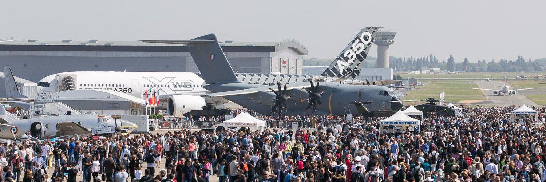 ¿Cuántos aviones se vendieron en el Paris Air Show?