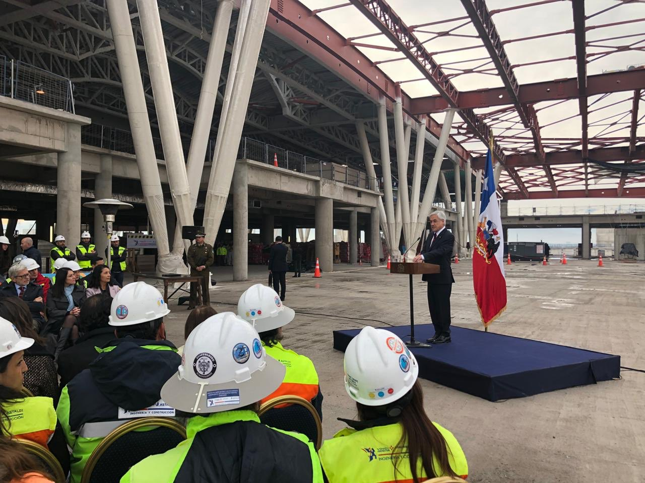 Chile: Presidente Piñera presentó el plan de modernización de aeropuertos