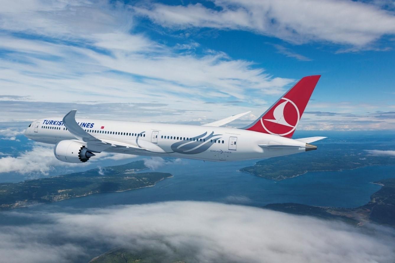 Turkish recibió su primer 787, avión en el que volará a Bogotá