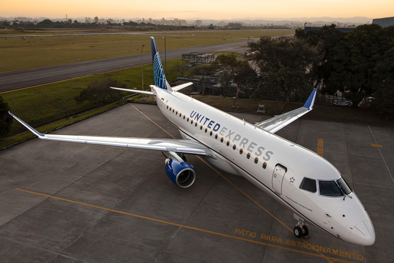 United Airlines anuncia un acuerdo por hasta 39 aviones Embraer 175