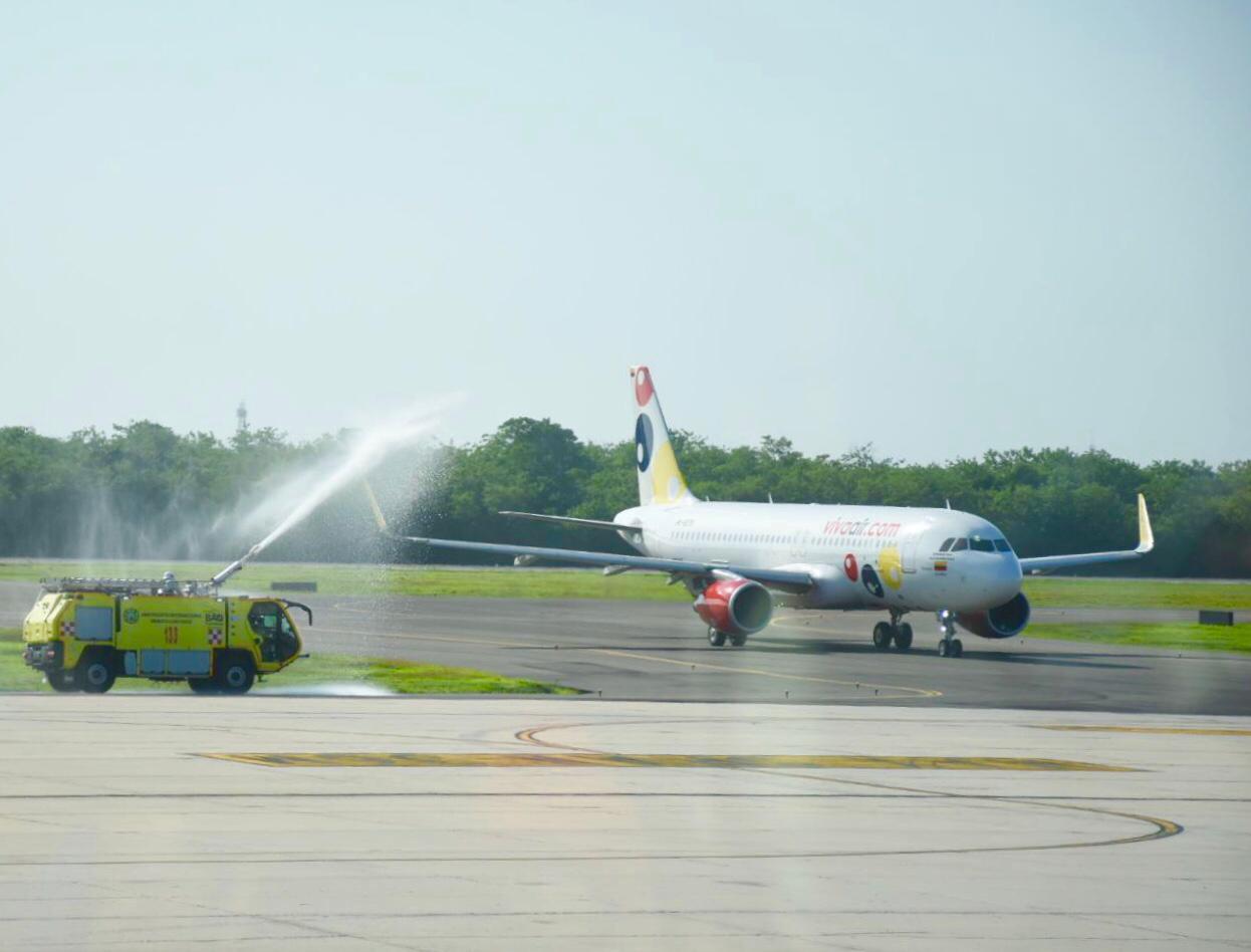 Con tres vuelos, Viva Air reinicia operaciones en Barranquilla