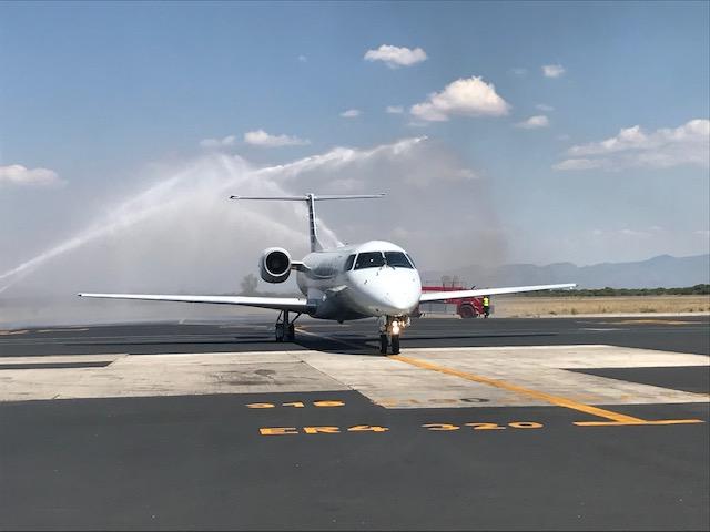 American Airlines inaugura su nueva ruta Durango-Dallas