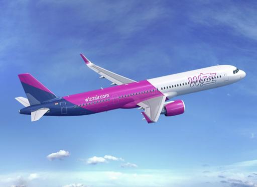 Wizz Air anuncia el encargo de 20 nuevos aviones Airbus A321XLR