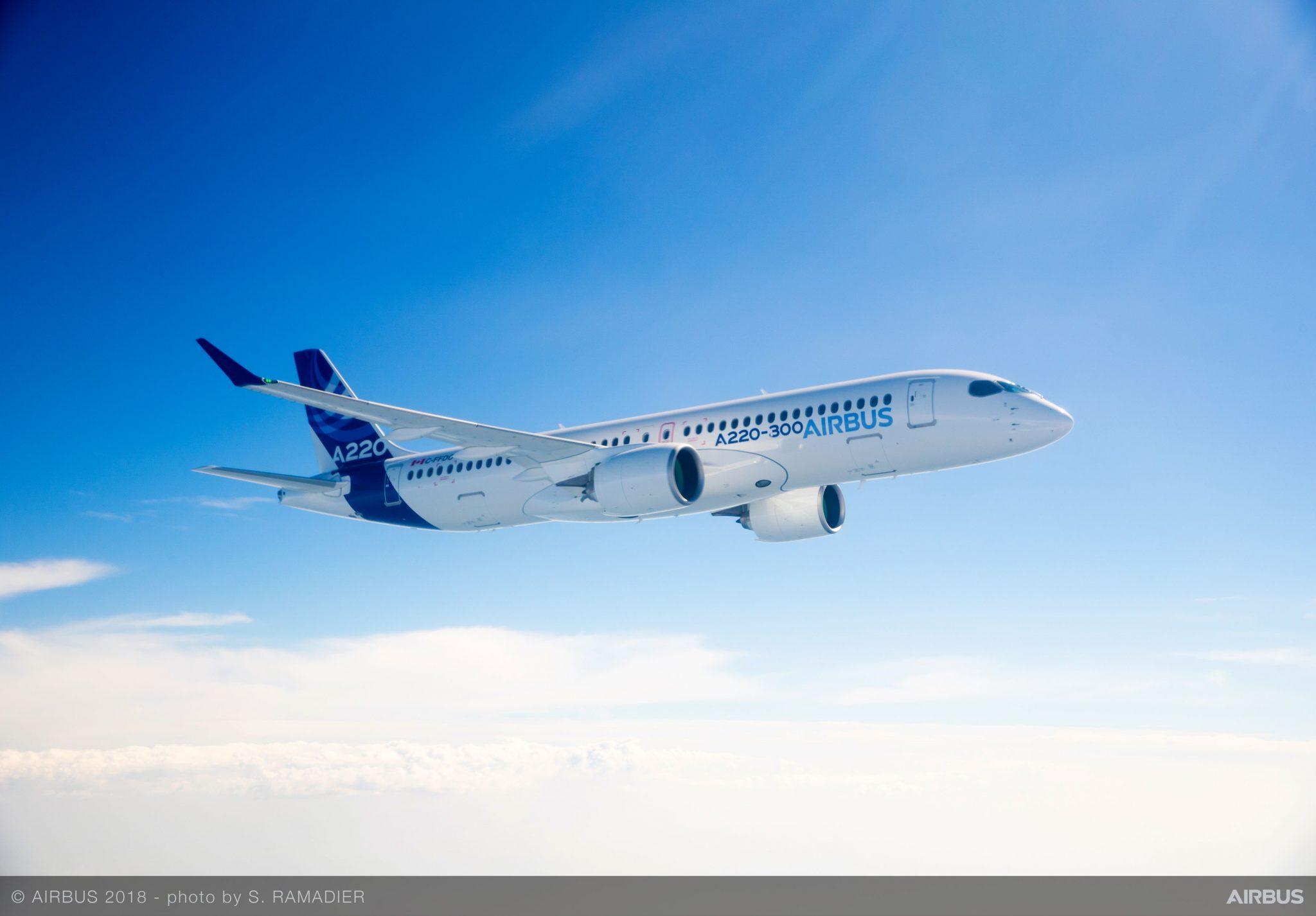 Airbus entrega el primer A220 a Egyptair que lo utilizará para homogenizar flota y ampliar capacidad en rutas de corto alcance