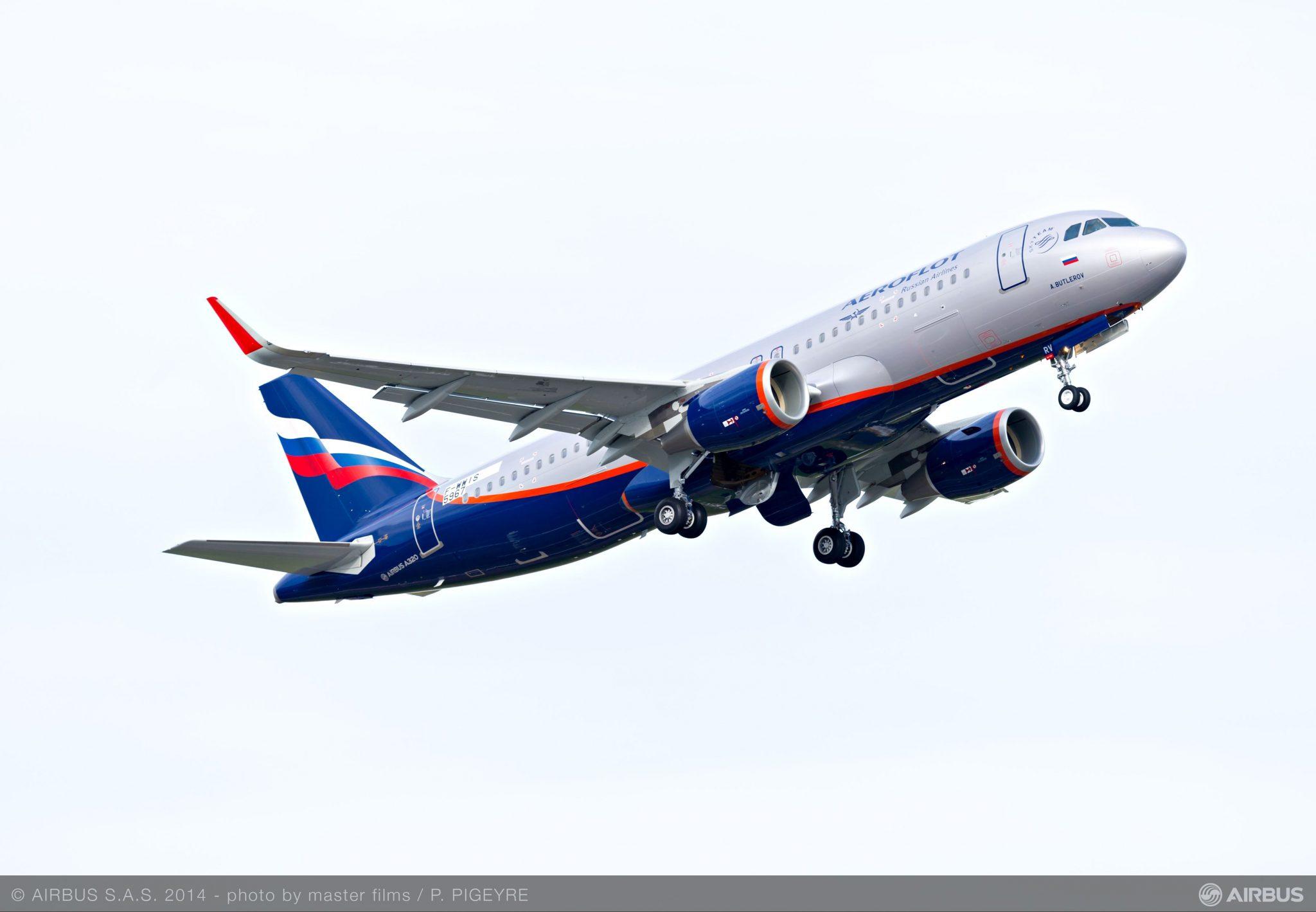 Aeroflot quiere incorporar a su flota nueve A320 neo