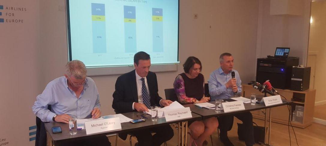 A4E: La congestión del espacio aéreo europeo aumenta un 30% el tiempo de vuelo
