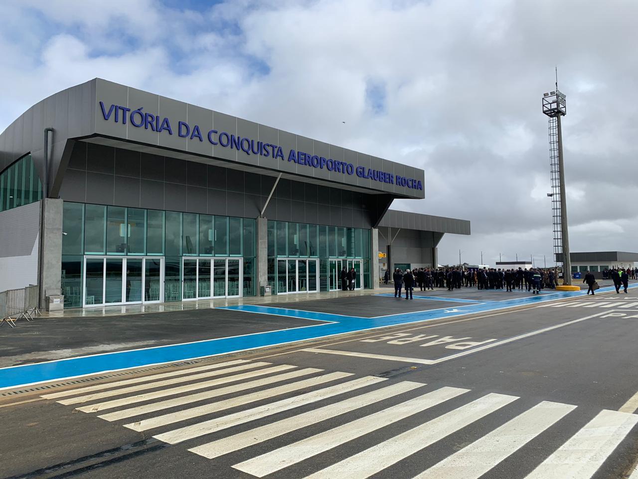 Aeroporto de Vitória da Conquista tem aumento de 80% em passageiros