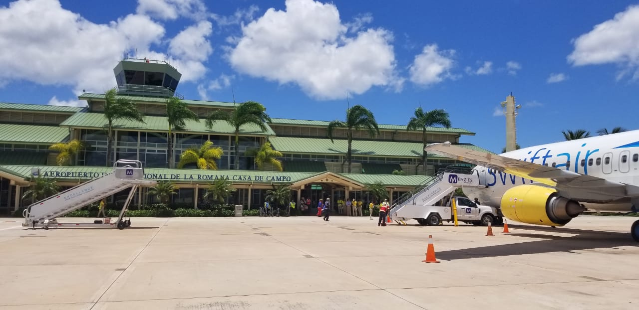 Vnúkovo/La Romana lidera 17 nuevas rutas aéreas con mayor tráfico de pasajeros en el 2019 en Rep. Dominicana