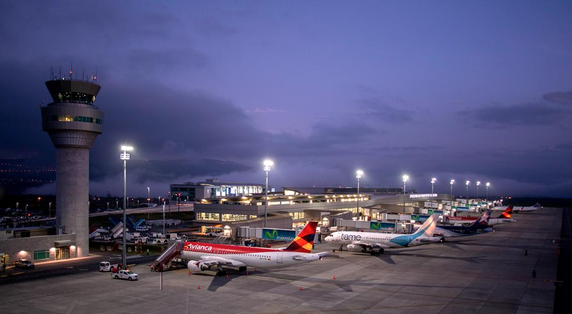 El Aeropuerto Internacional de Quito continúa destacándose a nivel mundial
