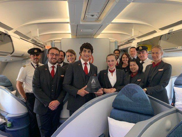 """Air Canada recibe el premio a la """"Diversidad en liderazgo"""" en los Airline Strategy Awards"""