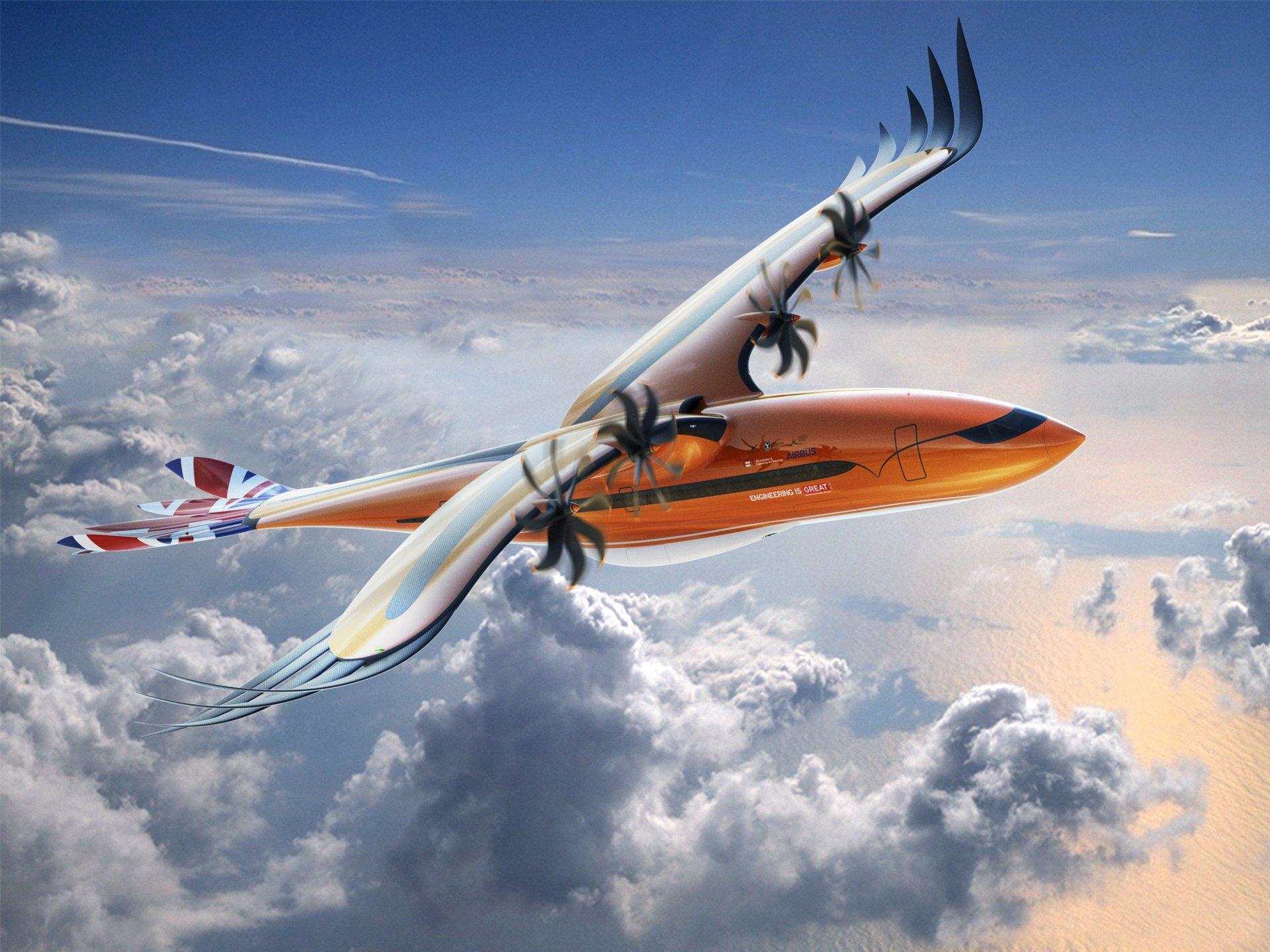 """Airbus presenta su diseño de avión futurista """"Bird of Prey"""""""