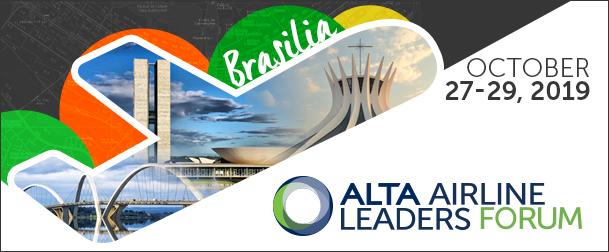 16ª Alta Airline Leaders Forum acontecerá em Brasilia no mês de outubro
