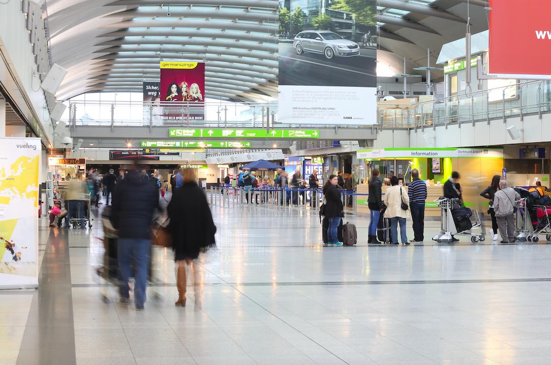 La CE aprueba una ayuda pública de 27 millones de euros para el aeropuerto de Dortmund