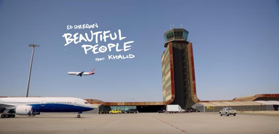 Ed Sheeran escoge el aeropuerto de Lleida como escenario de último videoclip