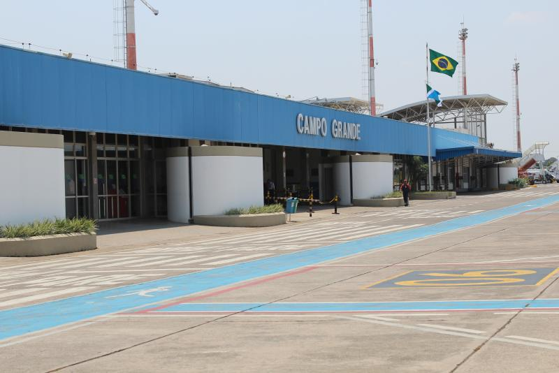 Aeroporto de Campo Grande oferece nova opção de transporte para passageiros