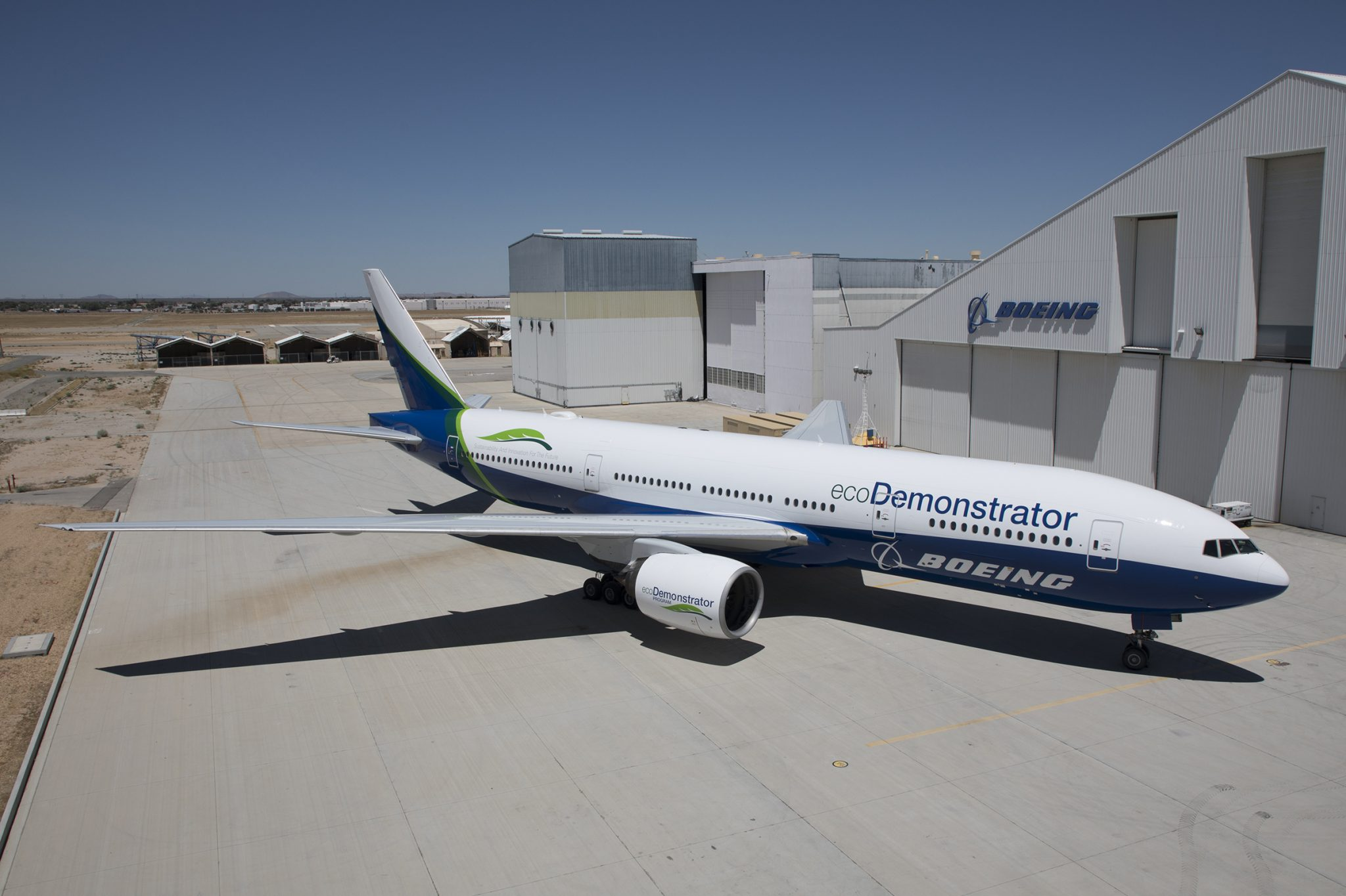 Boeing takes new technologies out of the lab and onto ecoDemonstrator flying test bed