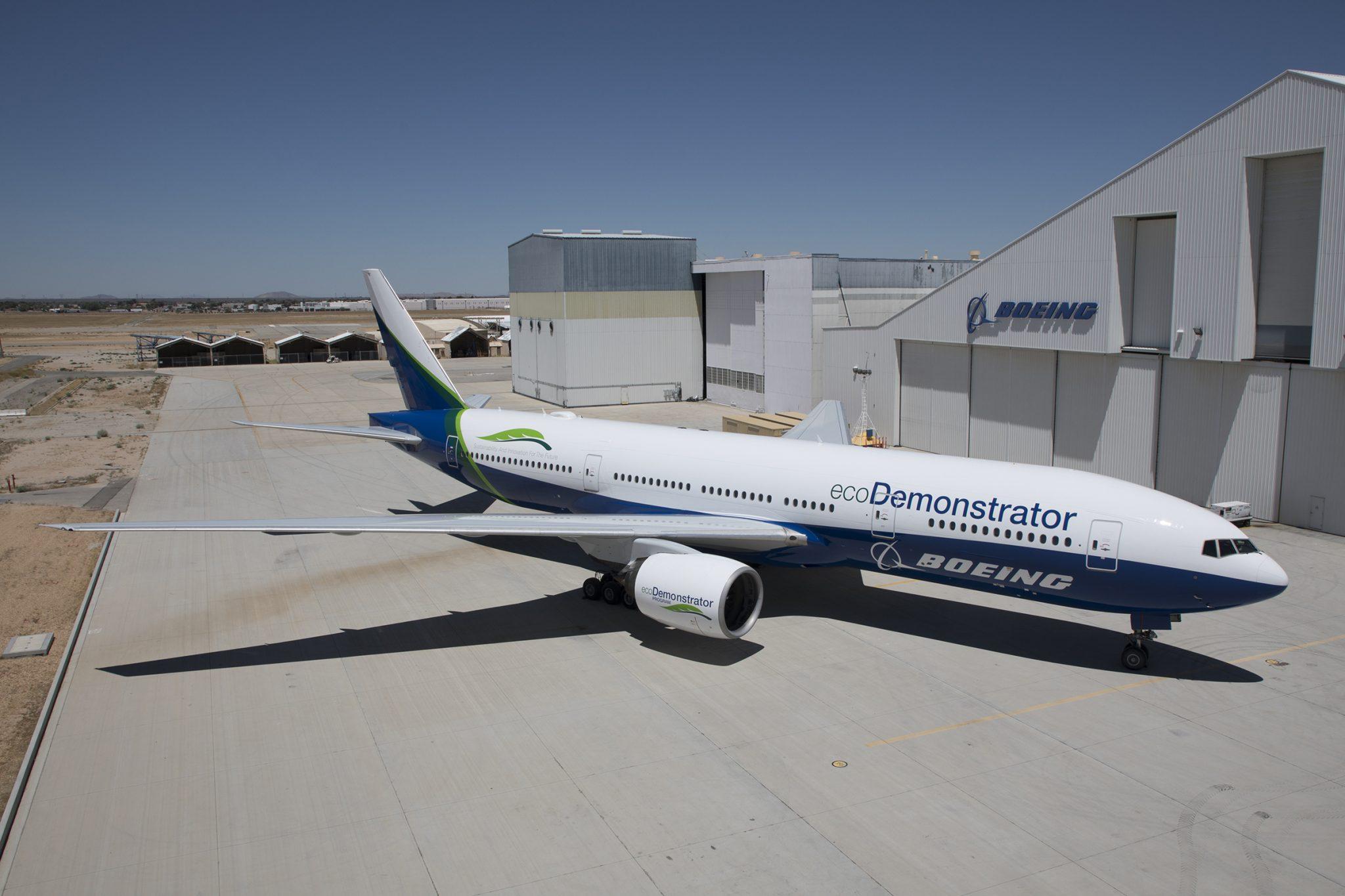 Boeing lleva nuevas tecnologías del laboratorio al banco de pruebas del ecoDemonstrator