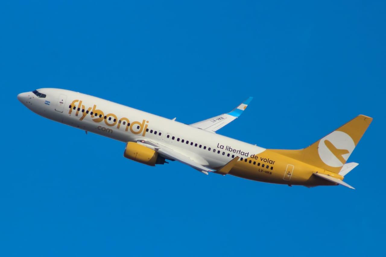 Flybondi habilita vuelos con conexiones
