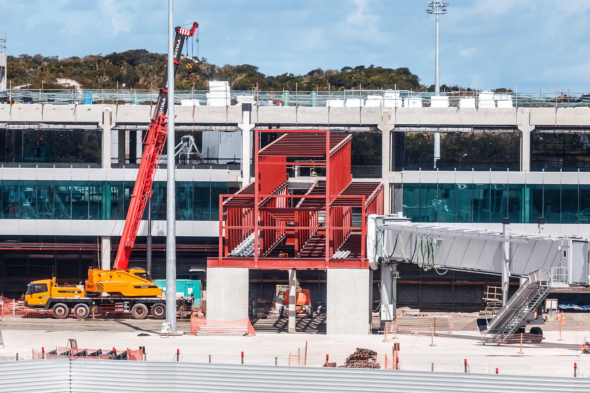 85% das obras no Aeroporto de Salvador já estão concluídas