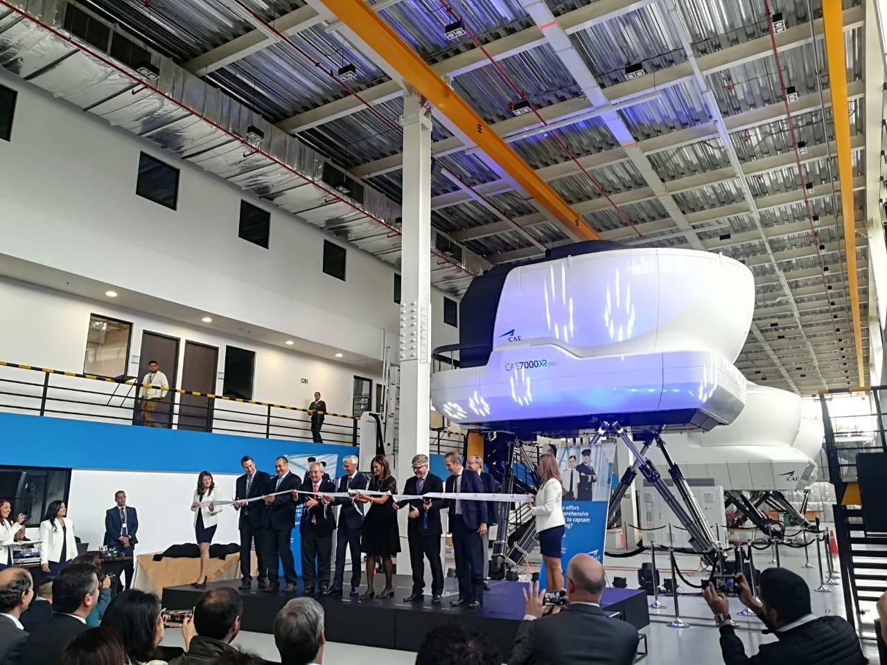 Avianca inaugura un nuevo centro de entrenamiento de vuelo en Bogotá