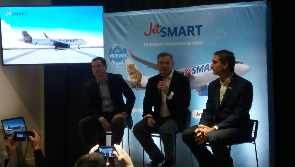 JetSMART duplica su flota en Argentina y anuncia cinco nuevas rutas domésticas en el país