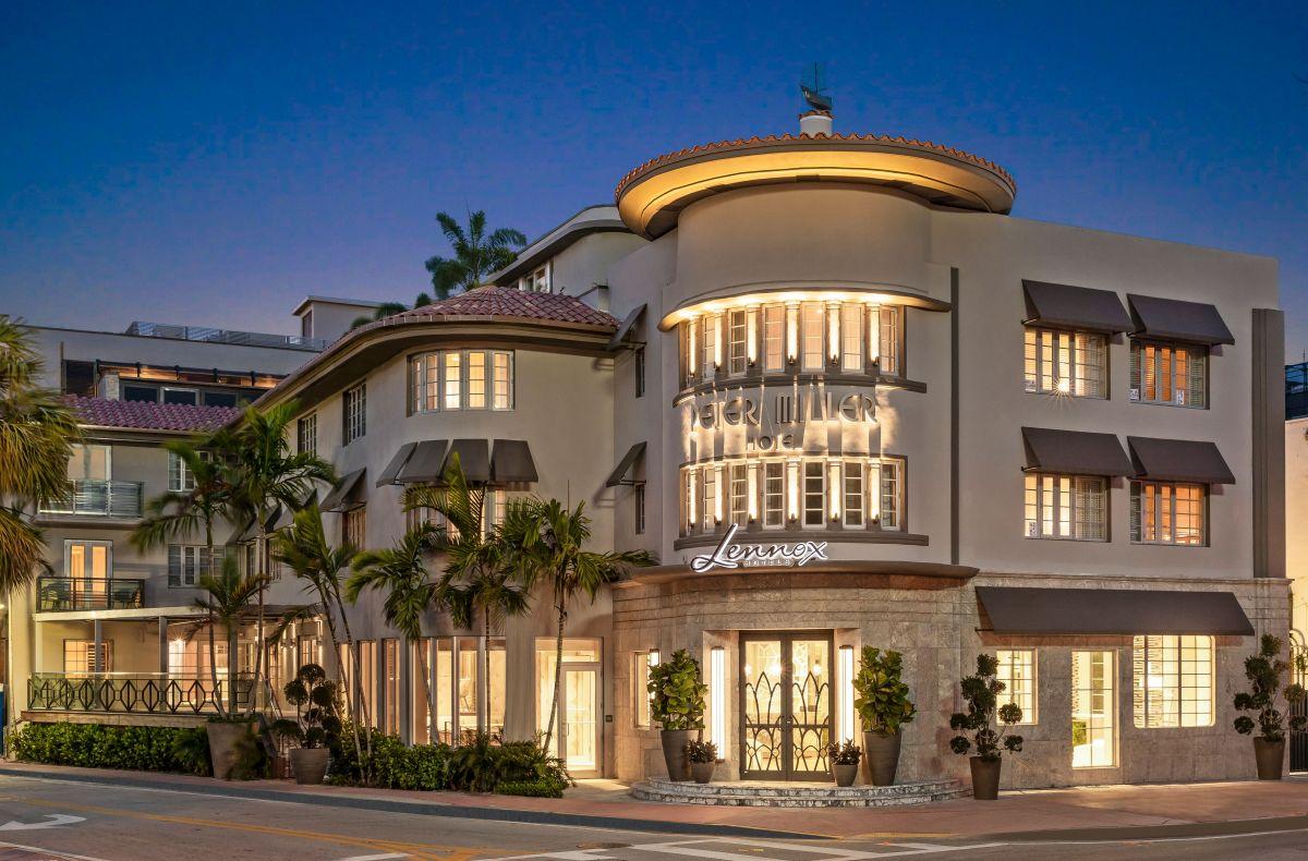 Lennox Hotel Miami Beach abrirá tras inversión de US$ 100 millones