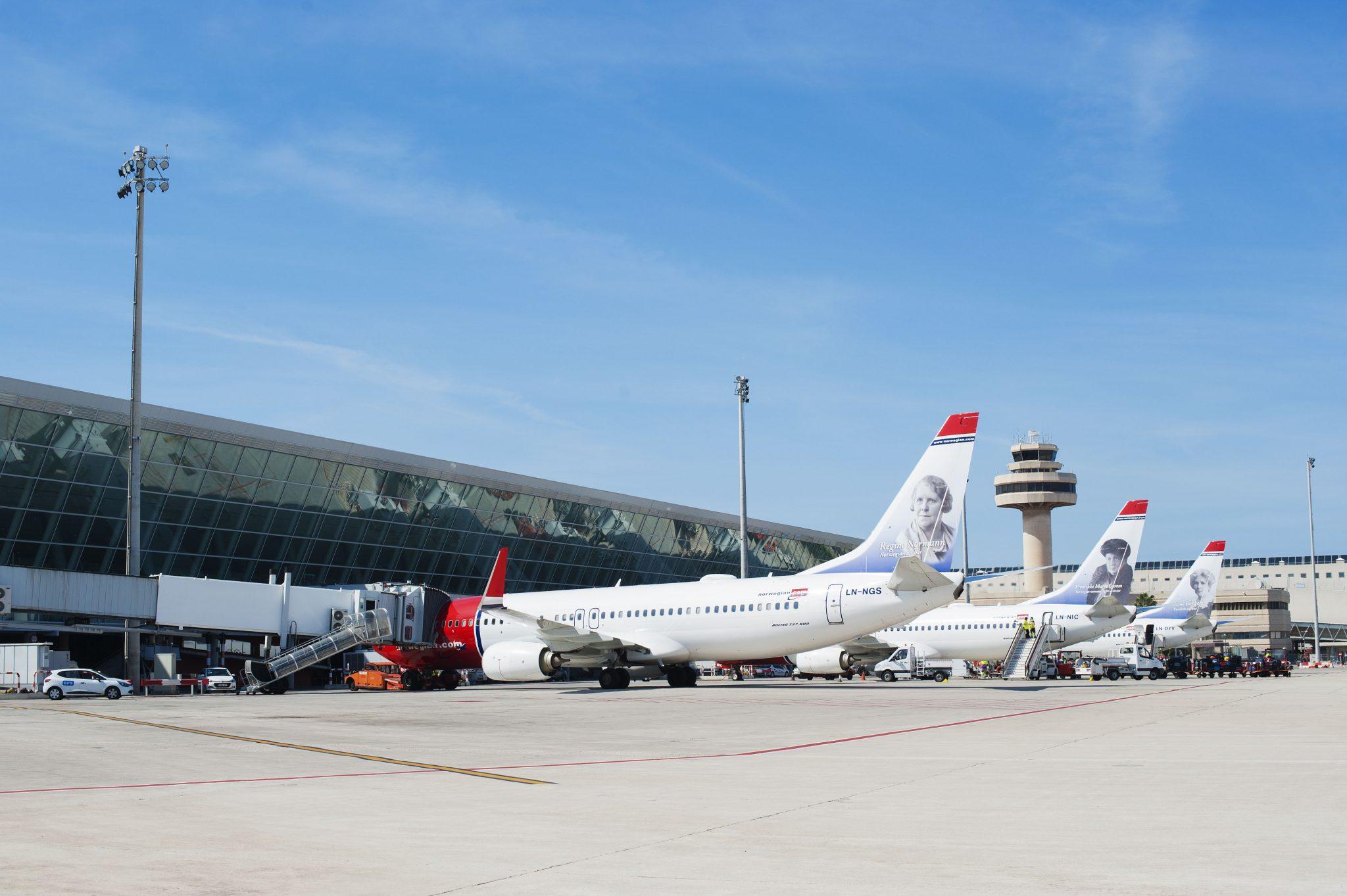 España: El aeropuerto de Palma sigue creciendo en vuelos