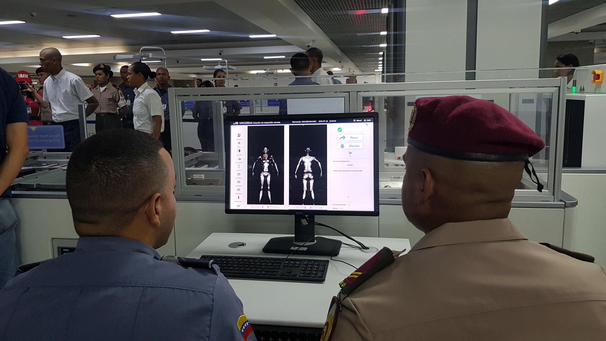 Venezuela: Modernizan equipos de seguridad en Aeropuerto Internacional Simón Bolívar