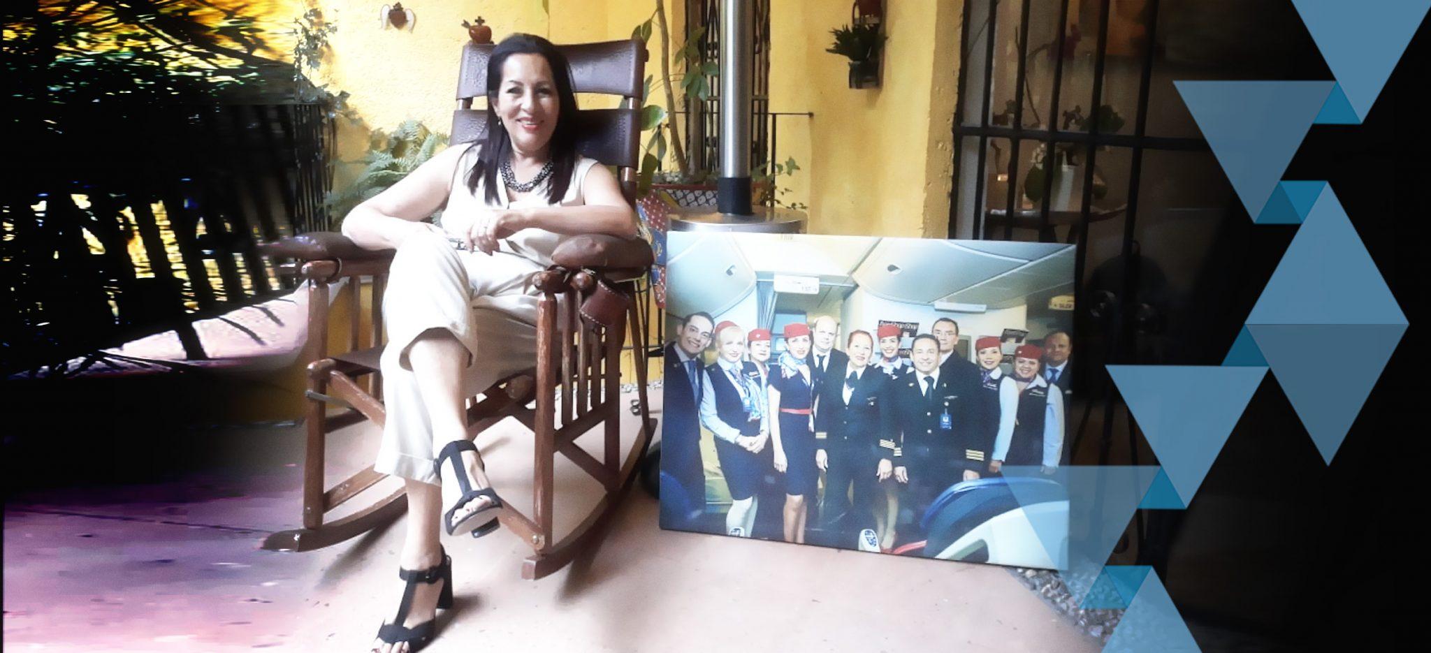 Se jubila primera mujer piloto