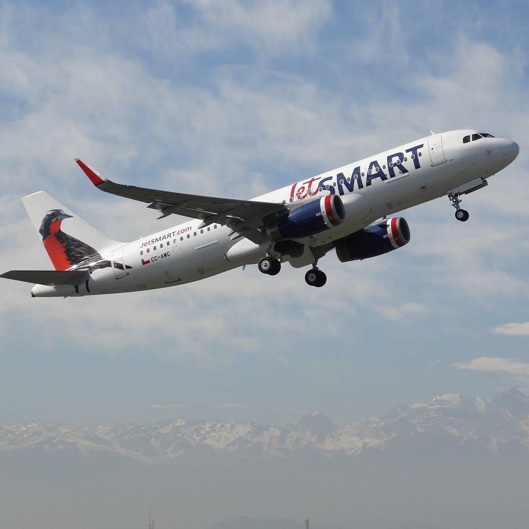 JetSMART inició sus vuelos a Ushuaia