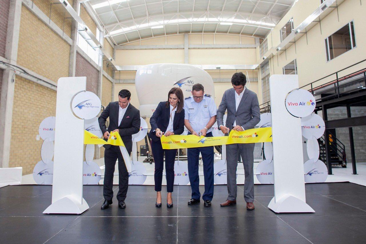 Viva Air inaugura el centro de entrenamiento más moderno para Airbus A320 de Colombia