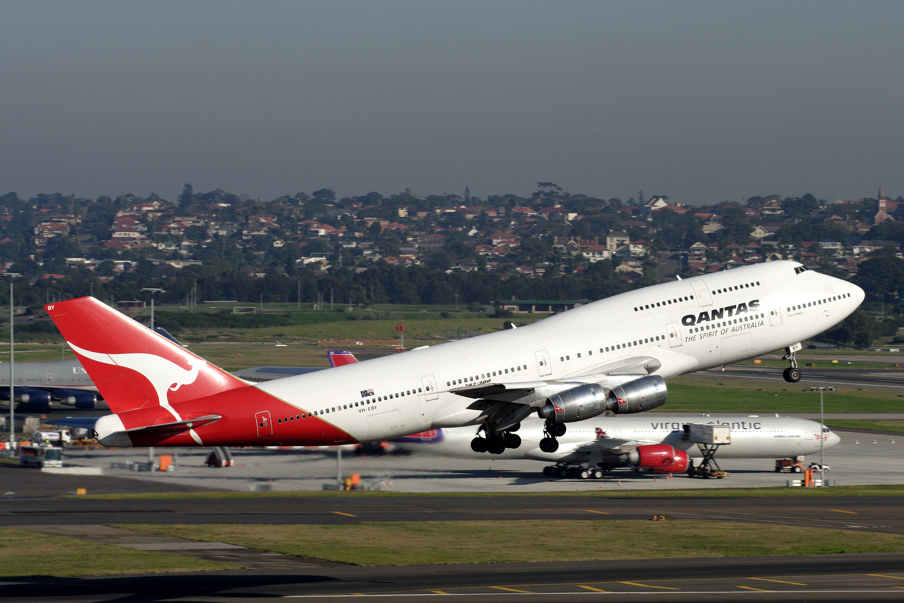 Qantas despide definitivamente al Boeing 747 con una serie de vuelos especiales