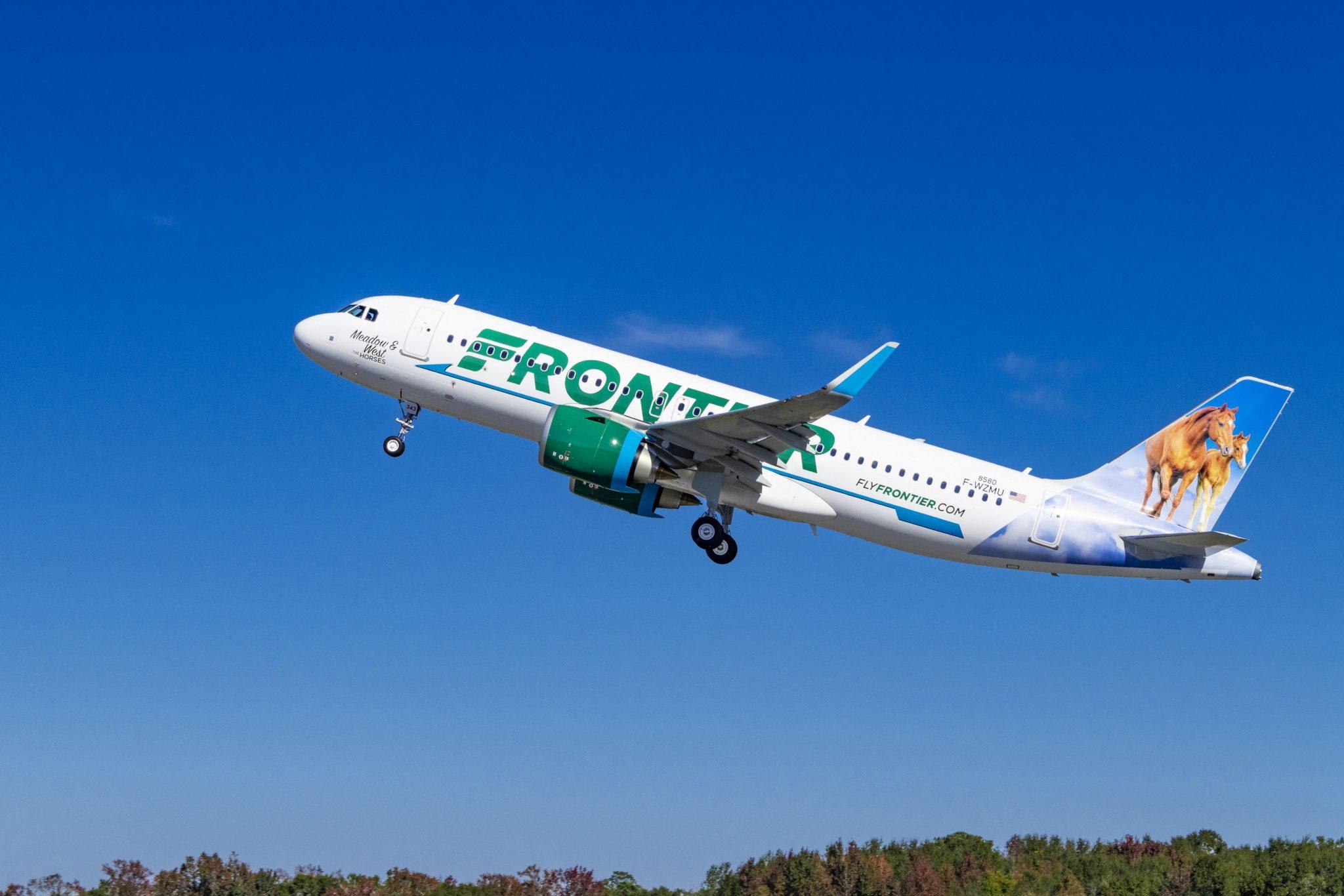 Aerolínea Frontier anuncia 15 nuevas rutas desde el aeropuerto de Newark