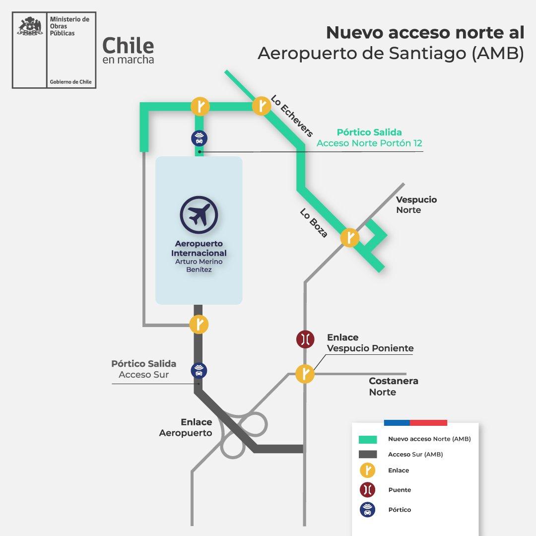 """Subsecretario de Obras Públicas de Chile: """"Este es el gobierno de los aeropuertos"""""""