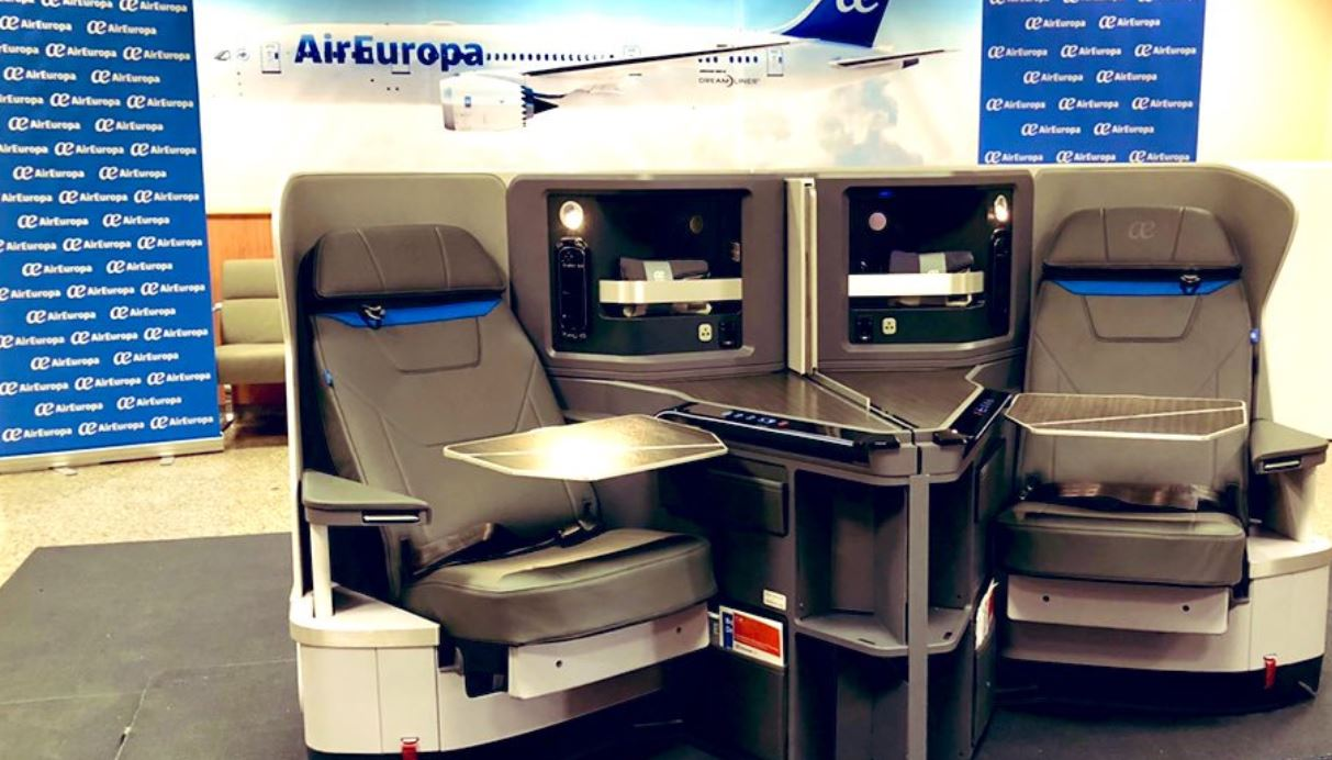 Air Europa refuerza su internacionalización y despunta en la clase Business