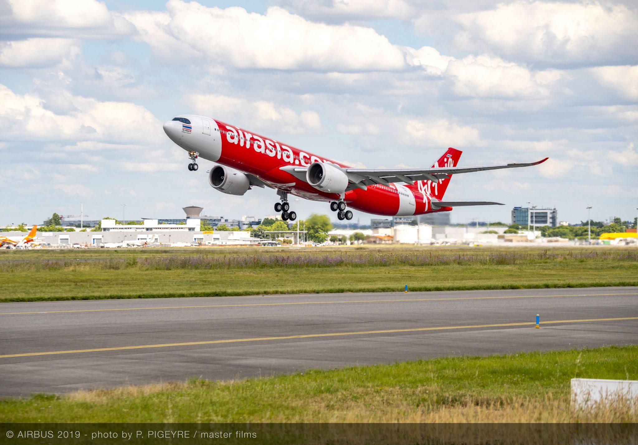 AirAsia recibe su primer A330neo