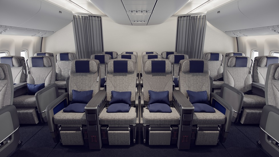 ANA reconfigures 12 Boeing 777-300ERs with new seats