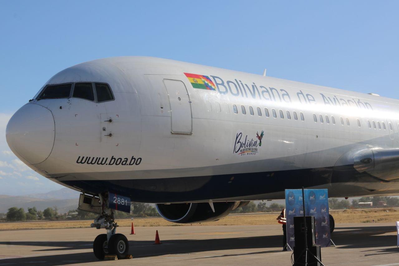 Bolivia: BoA reinició sus operaciones internacionales con vuelo a Sao Paulo