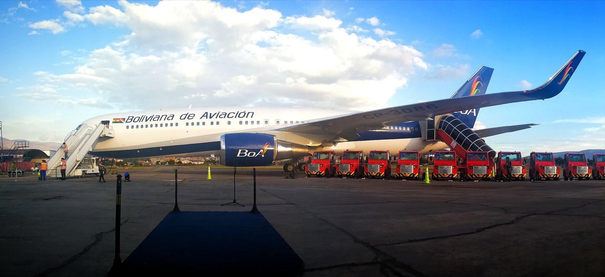 Boliviana de Aviación incrementa sus frecuencias a Buenos Aires