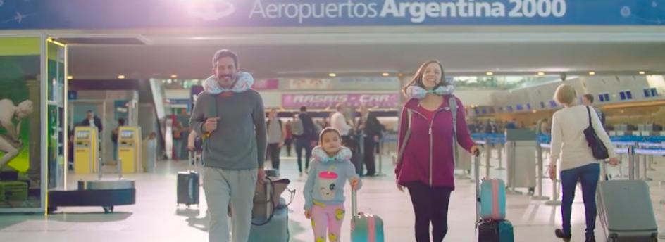 «Modo Aeropuerto», la nueva campaña de DDB para Aeropuertos Argentina 2000