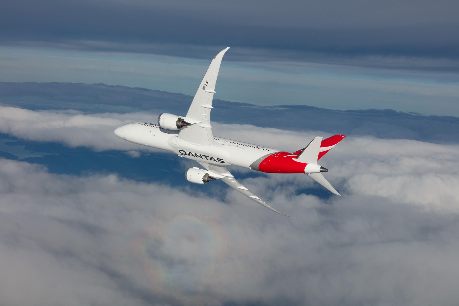 B787 Dreamliner de Qantas hará la ruta Santiago-Sídney
