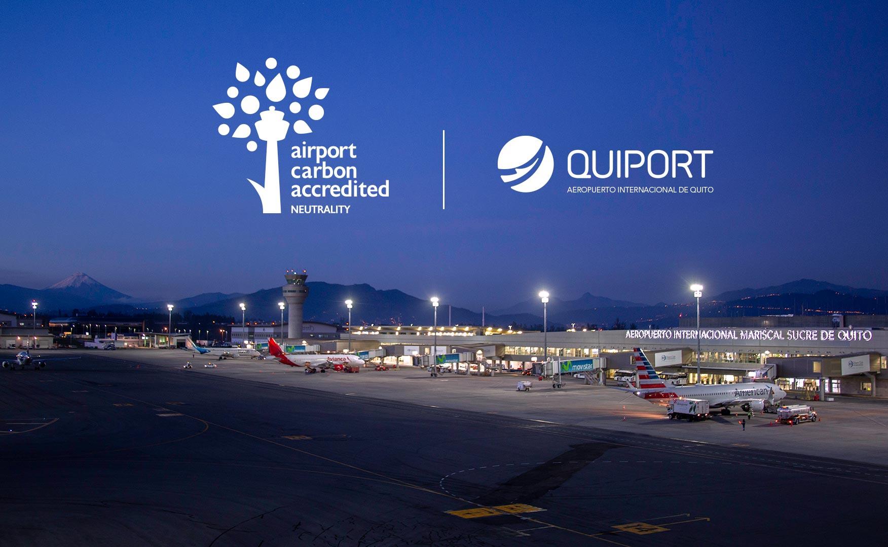 Ecuador: Quito primer aeropuerto internacional carbono neutral de Latinoamérica