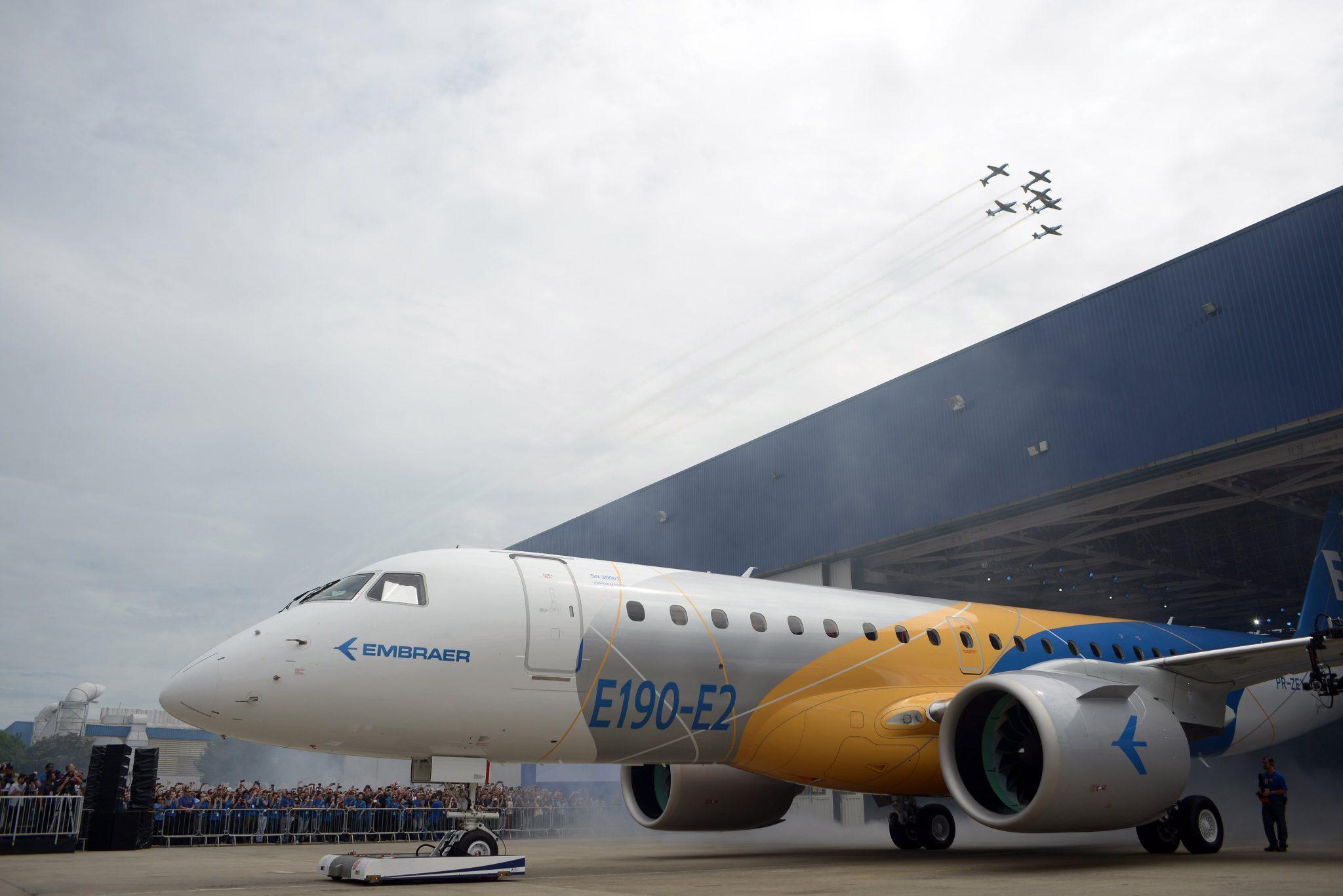 El E195-E2 entrará en servicio en este semestre